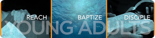 Young Adult Baptisms, rounded